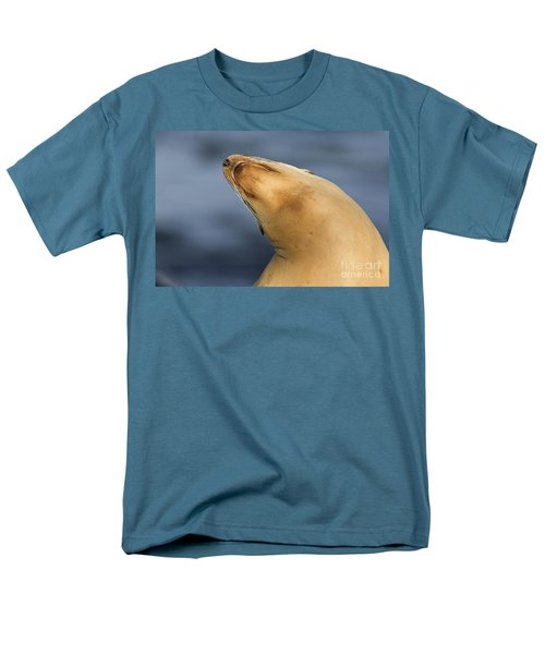 Men's T-Shirt  (Regular Fit) featuring the photograph Sea Lion Stretch by Bryan Keil