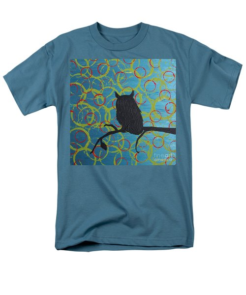 Men's T-Shirt  (Regular Fit) featuring the painting Seer by Jacqueline McReynolds