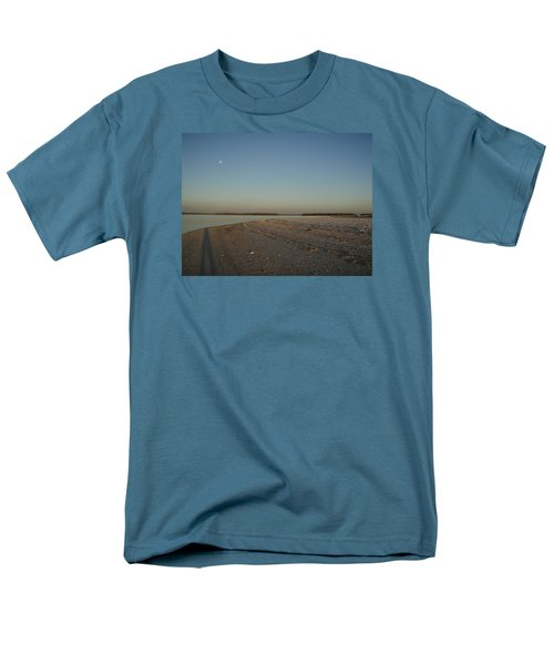 Men's T-Shirt  (Regular Fit) featuring the photograph Shadow Moon by Robert Nickologianis