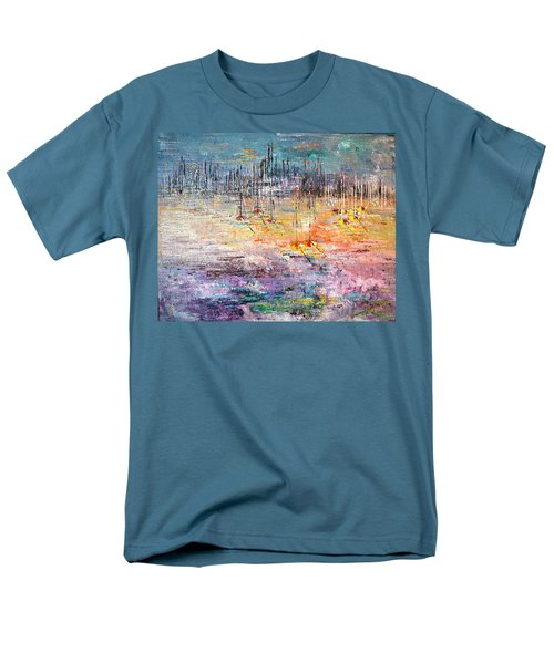 Shallow Water - Sold Men's T-Shirt  (Regular Fit) by George Riney