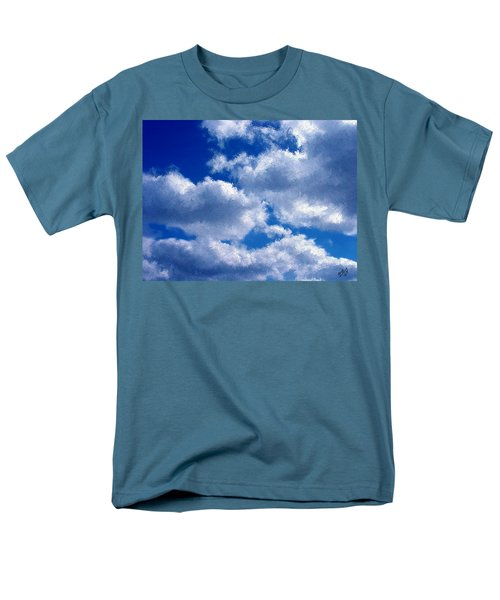 Shredded Clouds Men's T-Shirt  (Regular Fit) by Bruce Nutting