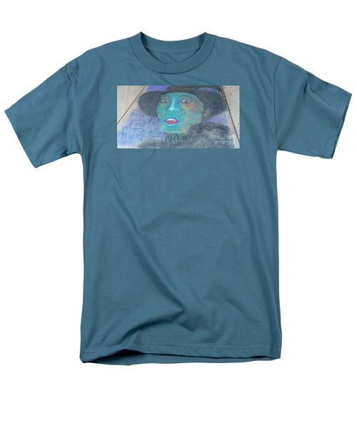 Men's T-Shirt  (Regular Fit) featuring the photograph Sidewalk Halloween Contest by Janette Boyd