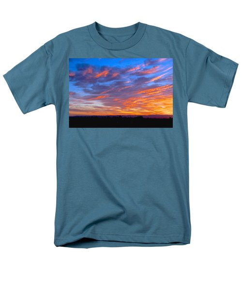 Sierra Nevada Sunrise Men's T-Shirt  (Regular Fit) by Eric Tressler