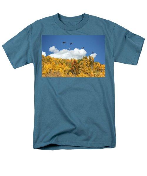 Signs Of The Season Men's T-Shirt  (Regular Fit) by Bob Hislop
