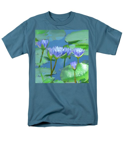 Silken Lilies Men's T-Shirt  (Regular Fit) by Holly Kempe