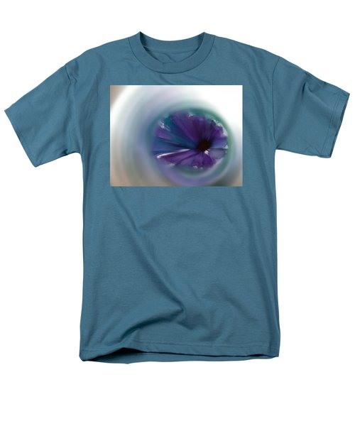 Men's T-Shirt  (Regular Fit) featuring the mixed media Sinking Into Beauty by Frank Bright
