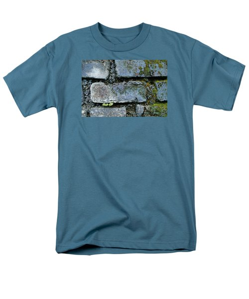 Men's T-Shirt  (Regular Fit) featuring the photograph Skc 0301 Tiny Twin Leaves by Sunil Kapadia