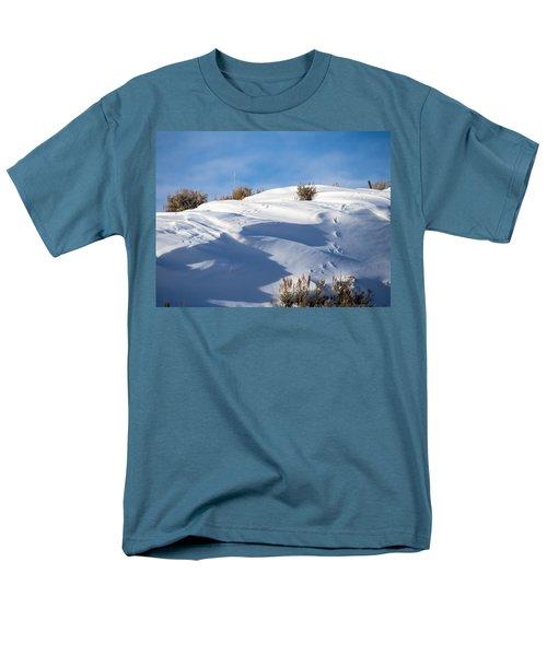 Snowdrifts Men's T-Shirt  (Regular Fit)