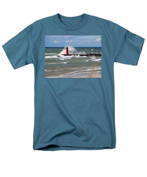 South Haven Splash Men's T-Shirt  (Regular Fit)