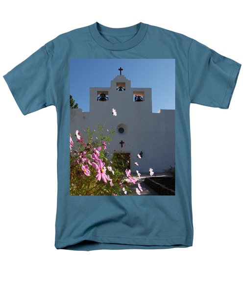 Men's T-Shirt  (Regular Fit) featuring the photograph Spanish Mission by Susan Rovira
