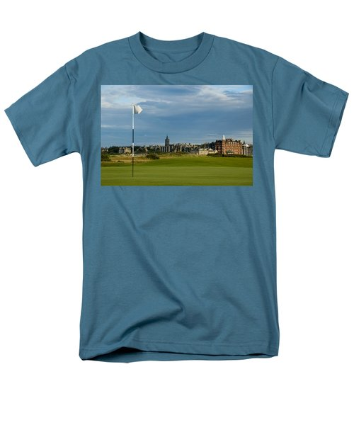 St Andrews Golf Men's T-Shirt  (Regular Fit) by Jeremy Voisey