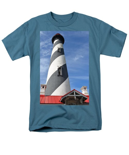 St. Augustine Lighthouse Men's T-Shirt  (Regular Fit) by Richard Bryce and Family