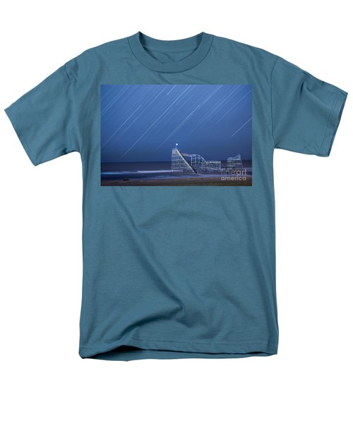 Starjet Under The Stars Men's T-Shirt  (Regular Fit) by Michael Ver Sprill
