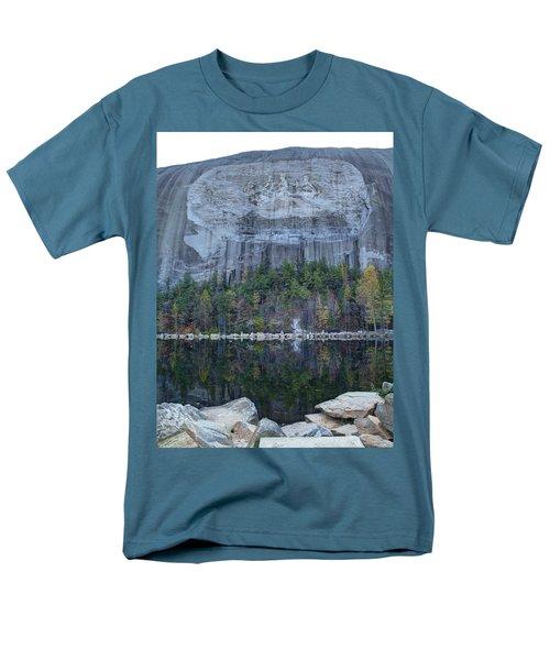 Stone Mountain - 2 Men's T-Shirt  (Regular Fit) by Charles Hite