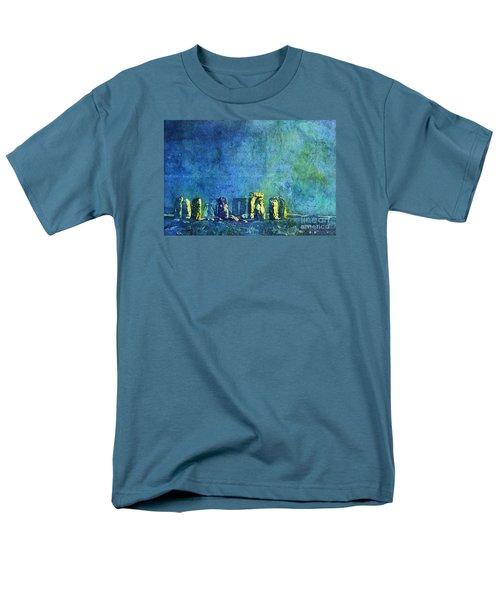Stonehenge In Moonlight Men's T-Shirt  (Regular Fit)