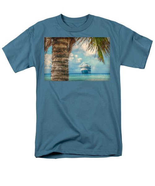 Stopover In Paradise Men's T-Shirt  (Regular Fit) by Hanny Heim