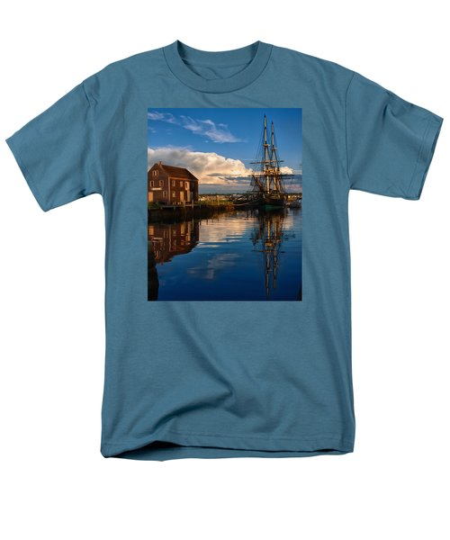 Storm Clearing Friendship Men's T-Shirt  (Regular Fit) by Jeff Folger