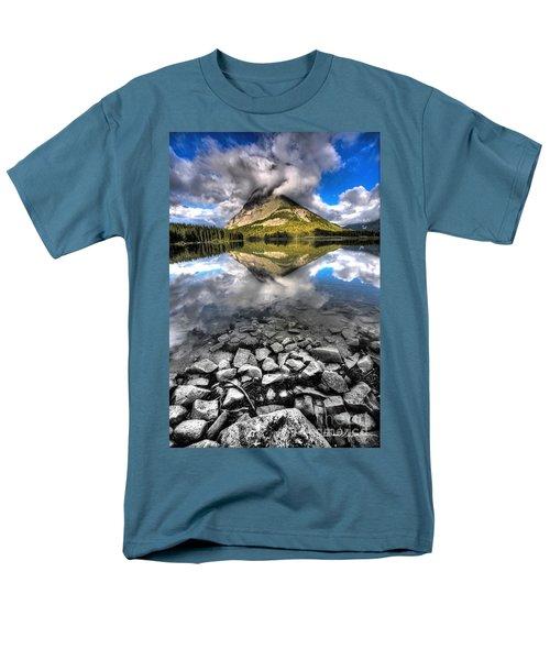 Storm Mountain II Men's T-Shirt  (Regular Fit) by David Andersen