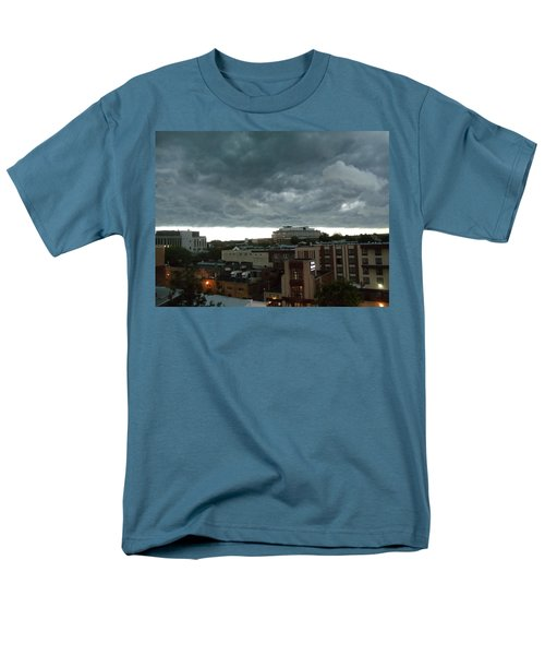 Storm Over West Chester Men's T-Shirt  (Regular Fit) by Ed Sweeney
