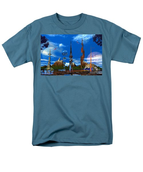 Men's T-Shirt  (Regular Fit) featuring the photograph Strange Planet by Mark Blauhoefer
