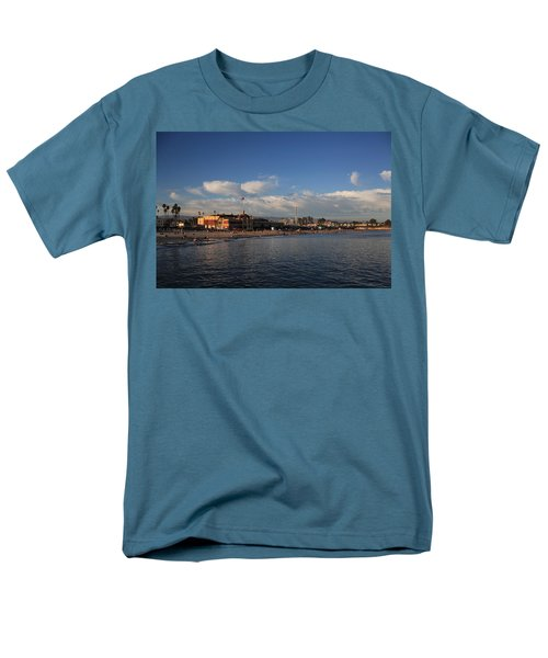Summer Evenings In Santa Cruz Men's T-Shirt  (Regular Fit) by Laurie Search