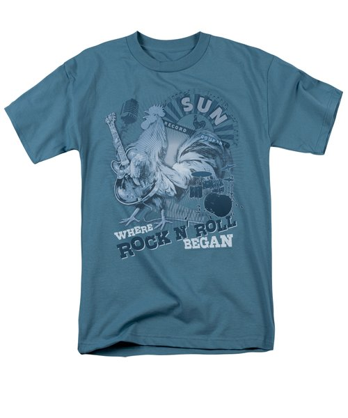 Sun - Where Rock Began Men's T-Shirt  (Regular Fit) by Brand A