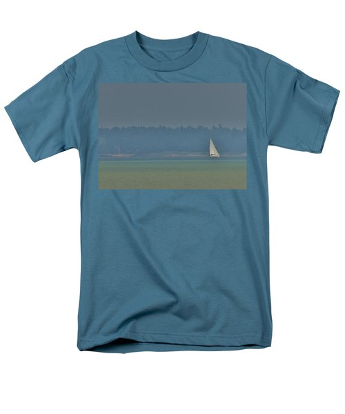 Sunday Sailing  Men's T-Shirt  (Regular Fit) by Daniel Thompson