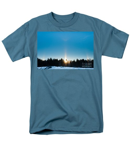 Sundog Spectacular Men's T-Shirt  (Regular Fit) by Cheryl Baxter