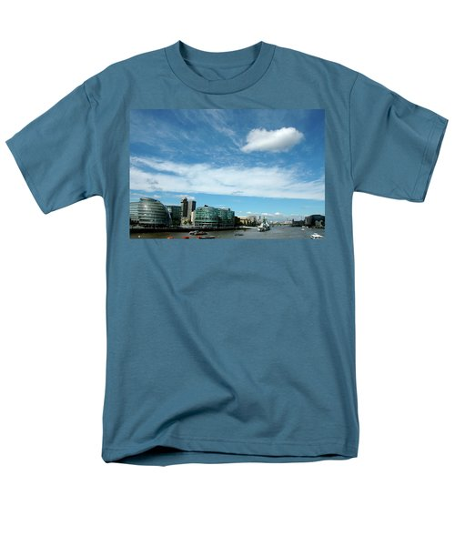 Men's T-Shirt  (Regular Fit) featuring the photograph Sunny Day London by Jonah  Anderson