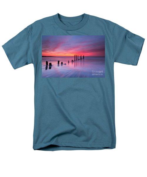 Sunrise At Deal Nj Men's T-Shirt  (Regular Fit) by Michael Ver Sprill