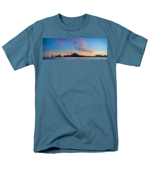 Men's T-Shirt  (Regular Fit) featuring the photograph Sunset Over Cabo by Sebastian Musial