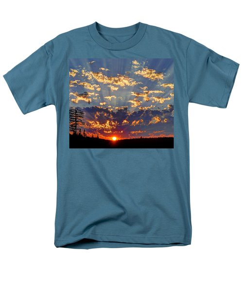 Sunset Spectacle Men's T-Shirt  (Regular Fit) by Peter Mooyman