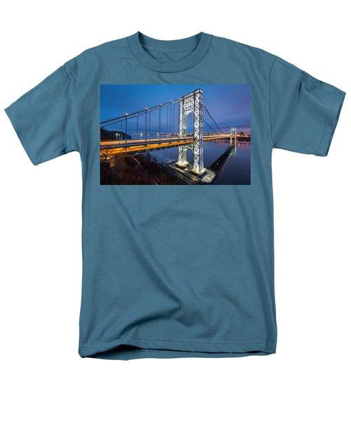 Super Bowl Gwb Men's T-Shirt  (Regular Fit) by Mihai Andritoiu