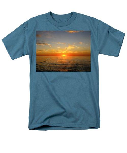 Surreal Sunrise At Sea Men's T-Shirt  (Regular Fit)