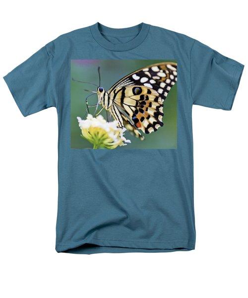 Swallowtail Butterfly Men's T-Shirt  (Regular Fit) by Maj Seda