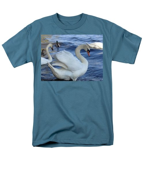 Swan Grace Men's T-Shirt  (Regular Fit) by Pema Hou