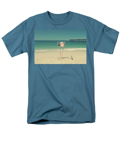 Swim And Surf Men's T-Shirt  (Regular Fit) by Laurie Search