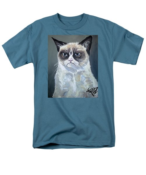 Tard - Grumpy Cat Men's T-Shirt  (Regular Fit) by Tom Carlton