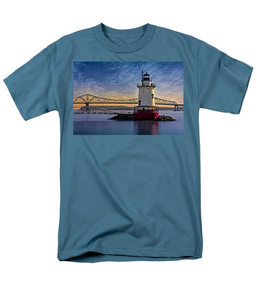 Tarrytown Light Men's T-Shirt  (Regular Fit) by Susan Candelario