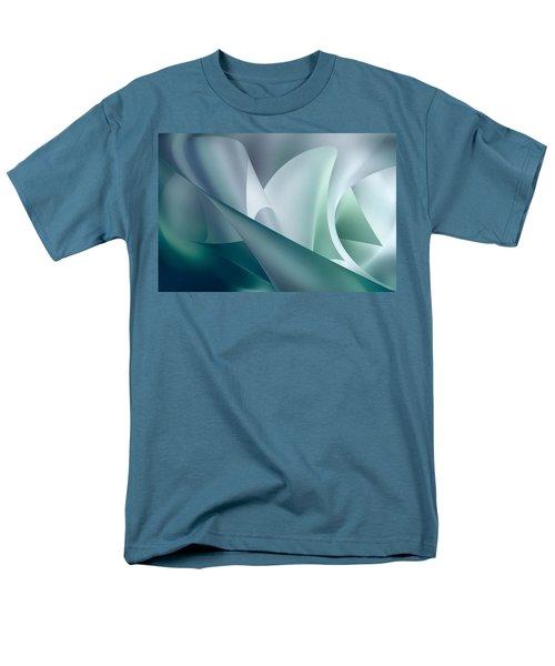 Teal Beam Men's T-Shirt  (Regular Fit) by Diane Dugas