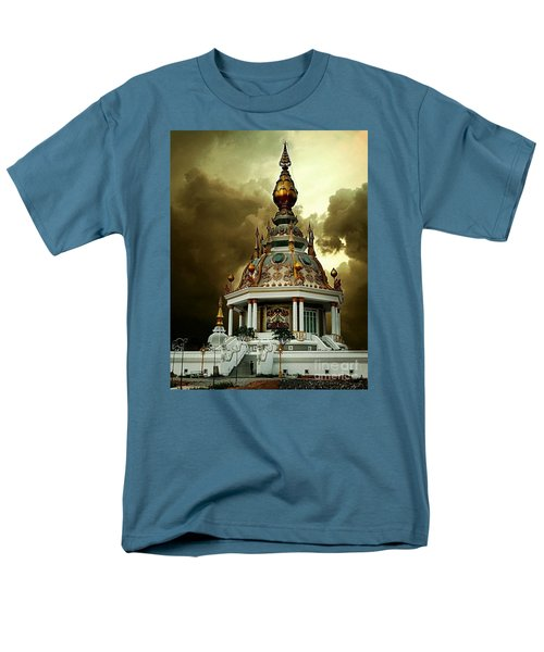 Temple Of Clouds  Men's T-Shirt  (Regular Fit) by Ian Gledhill