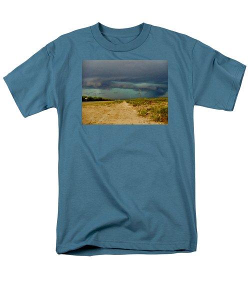 Texas Blue Thunder Men's T-Shirt  (Regular Fit) by Ed Sweeney