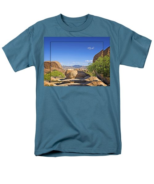 Texas Canyon 2 Men's T-Shirt  (Regular Fit) by Walter Herrit