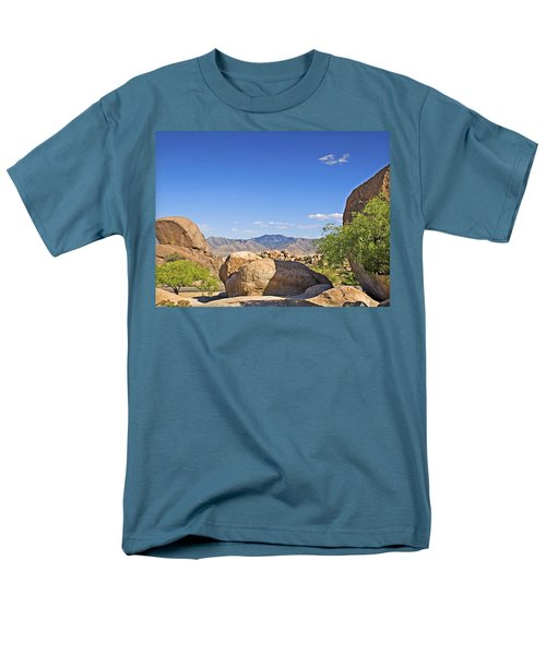 Texas Canyon Men's T-Shirt  (Regular Fit) by Walter Herrit