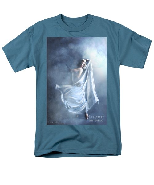 Men's T-Shirt  (Regular Fit) featuring the digital art That Single Fleeting Moment When You Feel Alive by Linda Lees