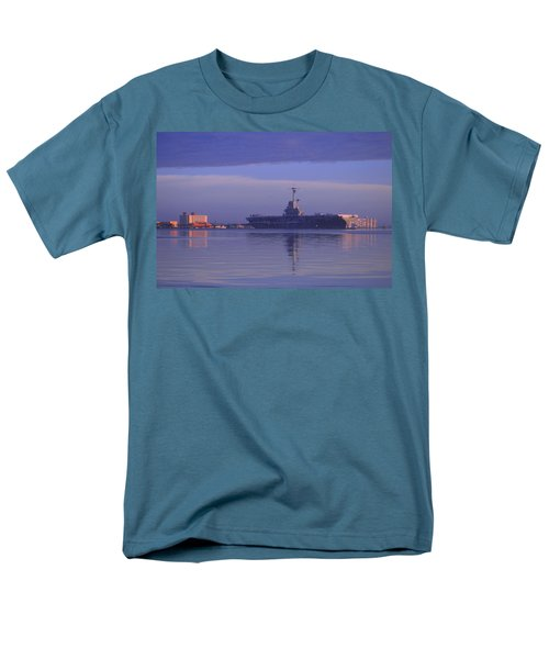 The Blue Ghost Men's T-Shirt  (Regular Fit) by Leticia Latocki