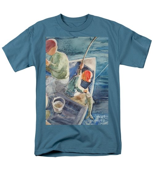 The Catch Men's T-Shirt  (Regular Fit) by Marilyn Jacobson