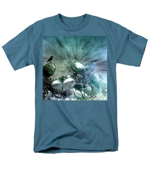 Men's T-Shirt  (Regular Fit) featuring the digital art Lost Hearts by Gabiw Art
