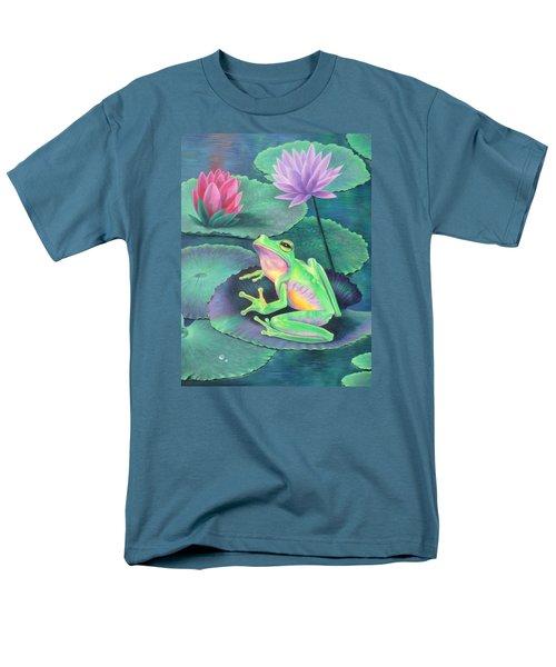 The Frog Men's T-Shirt  (Regular Fit) by Vivien Rhyan