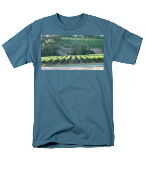 Men's T-Shirt  (Regular Fit) featuring the photograph The Grape Lines by Shawn Marlow